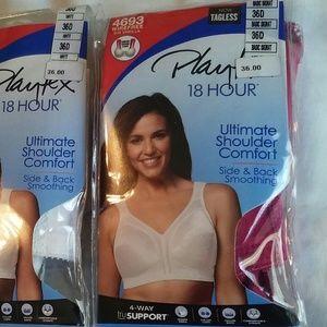 Playtex Intimates & Sleepwear - 36D SET OF 2 PLAYTEX BRAS